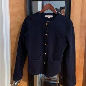 Loft Navy Cardigan